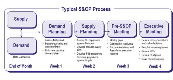 Supply Chain Graphic of the Week: the S&OP Process
