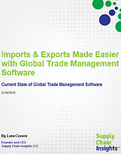 Imports & Exports Made Easier with Global Trade Management Software