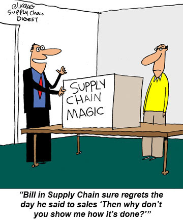 Supply Chain Cartoon Caption Winners For March 15 2010