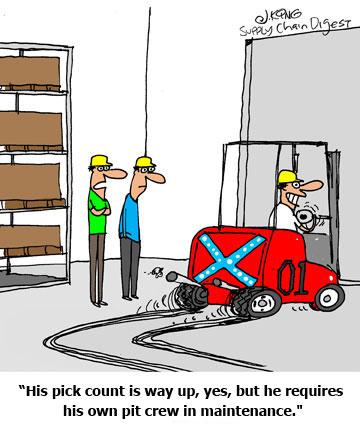 supply chain cartoon caption winner for april 26 2010 contest