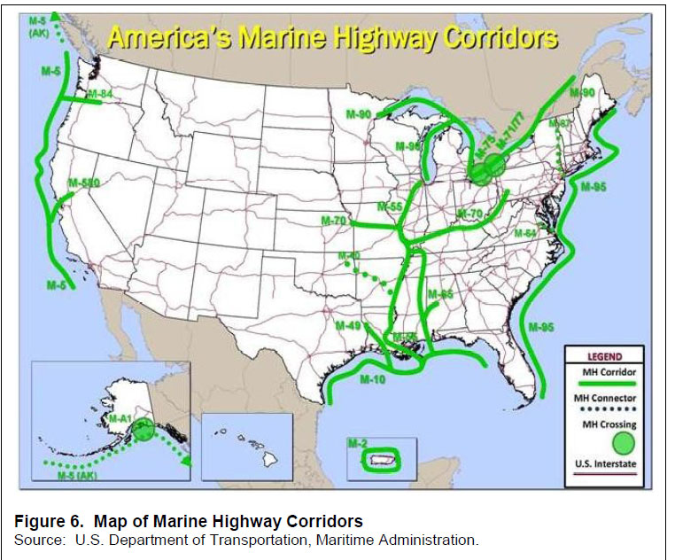 Logistics News Can Inland Waterways Really Be Key Source For - Us waterways map